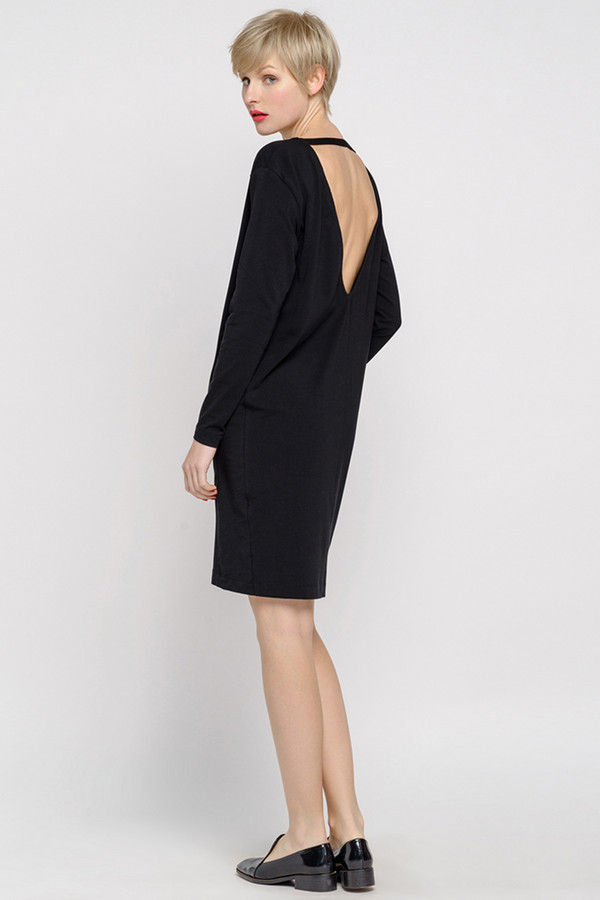 Платье Oh, myПлатья<br><br><br>Размер RU: 40-42<br>Пол: Женский<br>Возраст: Взрослый<br>Материал: хлопок 92%, лайкра 8%<br>Цвет: Чёрный