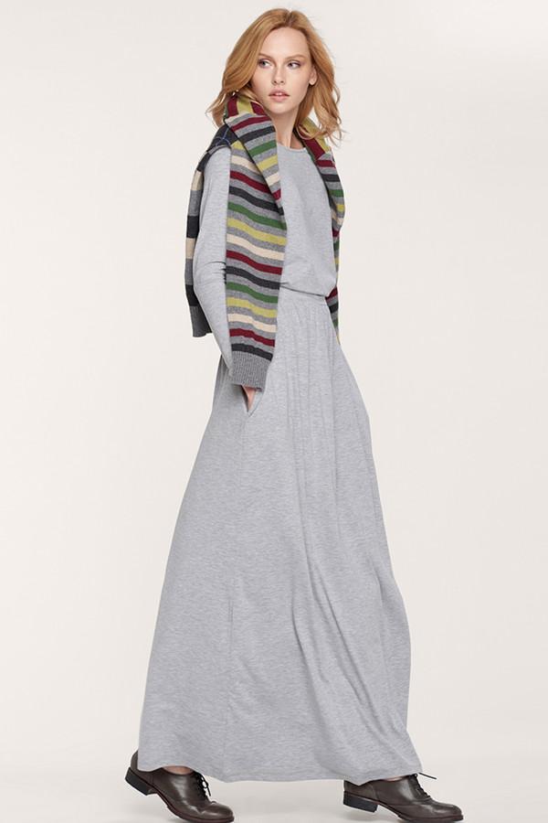 Платье Oh, myПлатья<br><br><br>Размер RU: 42-44<br>Пол: Женский<br>Возраст: Взрослый<br>Материал: хлопок 92%, лайкра 8%<br>Цвет: Серый