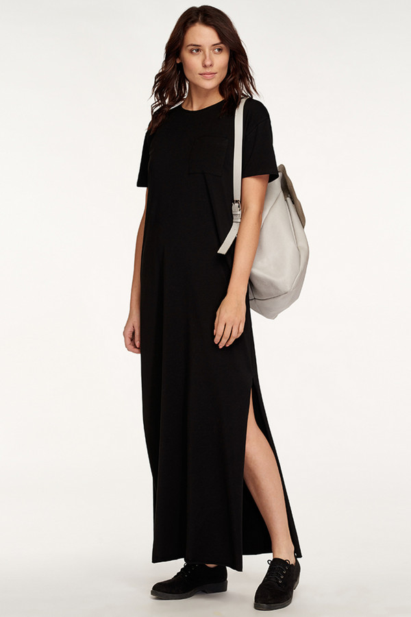 Платье Oh, myПлатья<br><br><br>Размер RU: 44-46<br>Пол: Женский<br>Возраст: Взрослый<br>Материал: эластан 8%, хлопок 92%<br>Цвет: Чёрный