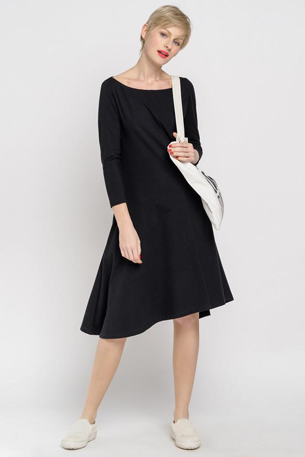 Платье Oh, myПлатья<br><br><br>Размер RU: 42-44<br>Пол: Женский<br>Возраст: Взрослый<br>Материал: хлопок 92%, лайкра 8%<br>Цвет: Чёрный