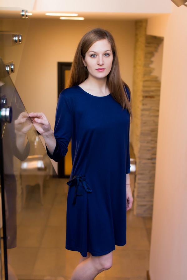 Платье MARUSЯПлатья<br><br><br>Размер RU: 46<br>Пол: Женский<br>Возраст: Взрослый<br>Материал: вискоза 80%, полиэстер 20%<br>Цвет: Синий