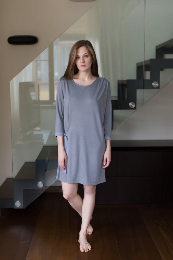 Платье MARUSЯПлатья<br><br><br>Размер RU: 48<br>Пол: Женский<br>Возраст: Взрослый<br>Материал: вискоза 80%, полиэстер 20%<br>Цвет: Серый
