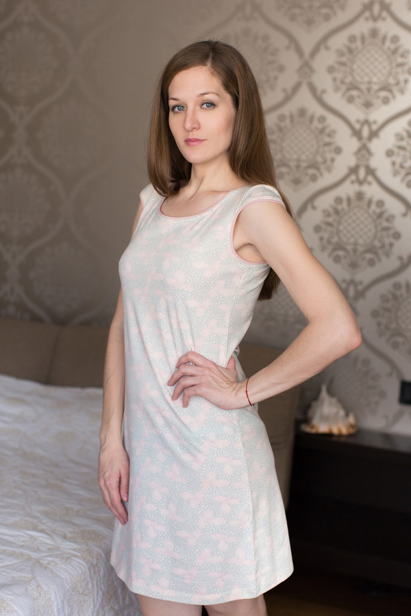 Платье MARUSЯПлатья<br><br><br>Размер RU: 46<br>Пол: Женский<br>Возраст: Взрослый<br>Материал: эластан 8%, хлопок 92%<br>Цвет: Серый