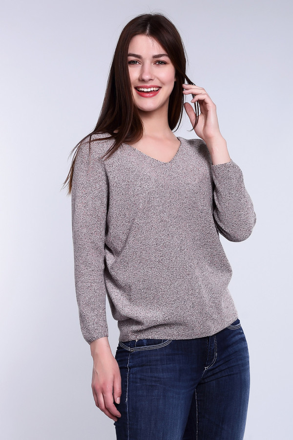 Пуловер MonariПуловеры<br><br><br>Размер RU: 48<br>Пол: Женский<br>Возраст: Взрослый<br>Материал: хлопок 59%, метализ.полиэстер 41%<br>Цвет: Разноцветный