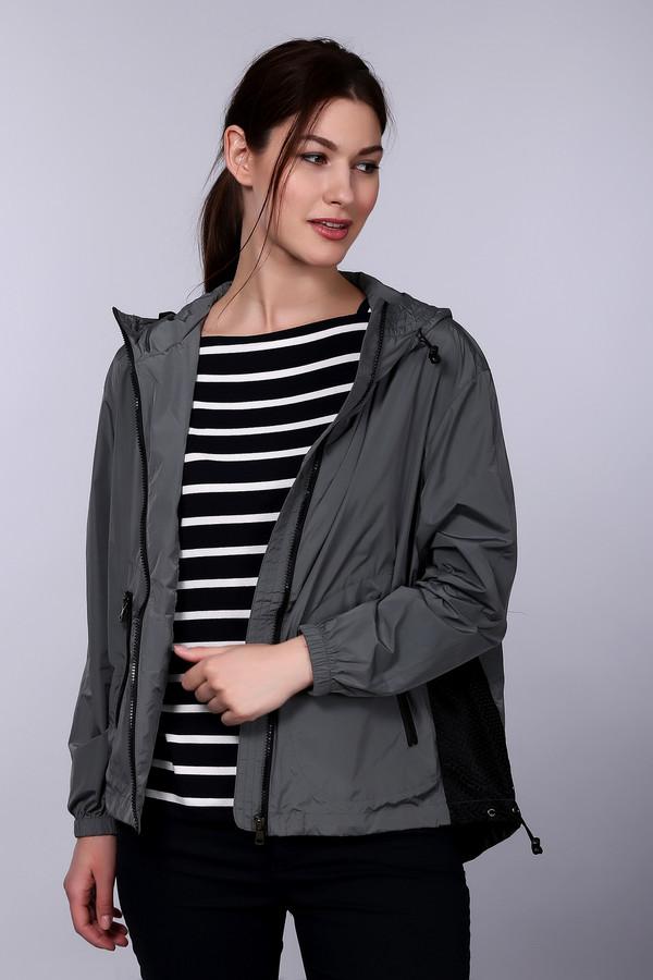 Купить Куртка Just Valeri, Китай, Серый, нейлон 100%, Состав_подкладка полиэстер 100%