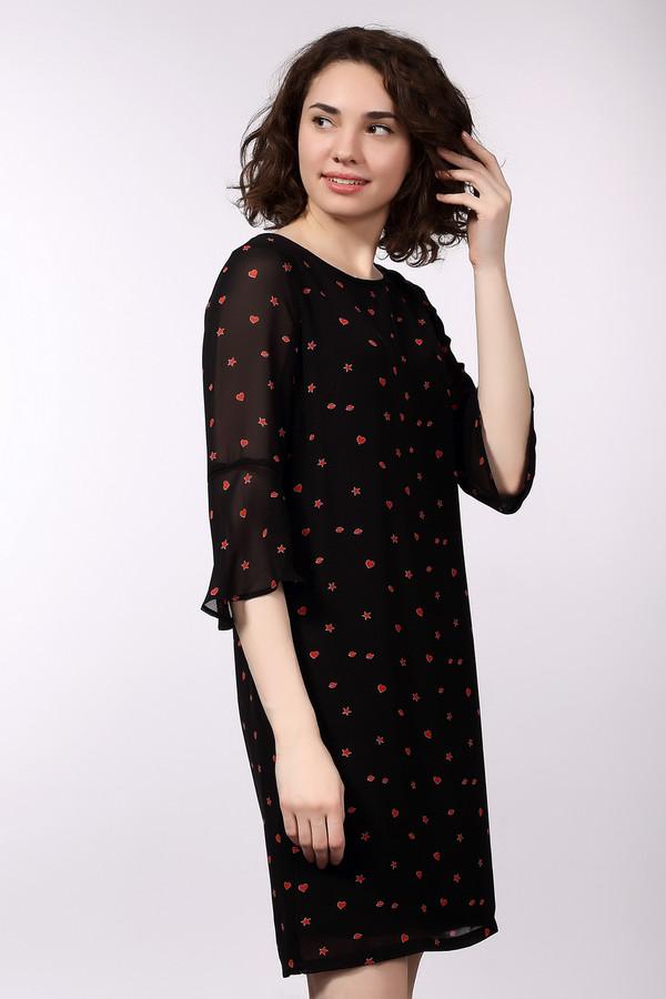Купить Платье Tom Tailor, Индонезия, Красный, полиэстер 100%, Состав_подкладка вискоза 100%