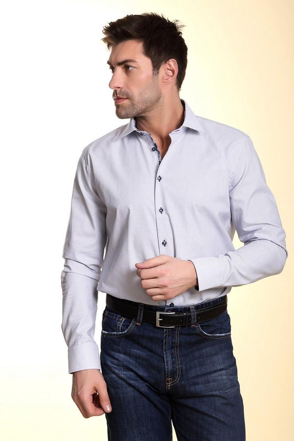 Рубашка с длинным рукавом BugattiДлинный рукав<br><br><br>Размер RU: 43-44<br>Пол: Мужской<br>Возраст: Взрослый<br>Материал: хлопок 100%<br>Цвет: Чёрный