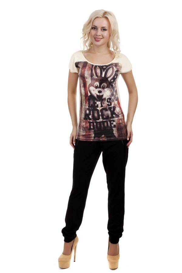 Брюки s.OliverБрюки<br>Черные брюки от бренда s.Oliver зауженного книзу кроя. Изделие дополнено: поясом с эластичной резинкой, ремешками по бокам, двумя боковыми карманами на молнии и двумя прорезными карманами сзади. Манжеты оформлены эластичной резинкой.<br><br>Размер RU: 40<br>Пол: Женский<br>Возраст: Взрослый<br>Материал: эластан 4%, полиэстер 64%, вискоза 32%<br>Цвет: Чёрный
