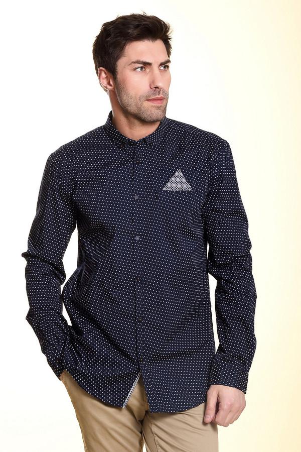 Рубашка с длинным рукавом Tom TailorДлинный рукав<br><br><br>Размер RU: 48-50<br>Пол: Мужской<br>Возраст: Взрослый<br>Материал: эластан 3%, хлопок 97%<br>Цвет: Белый