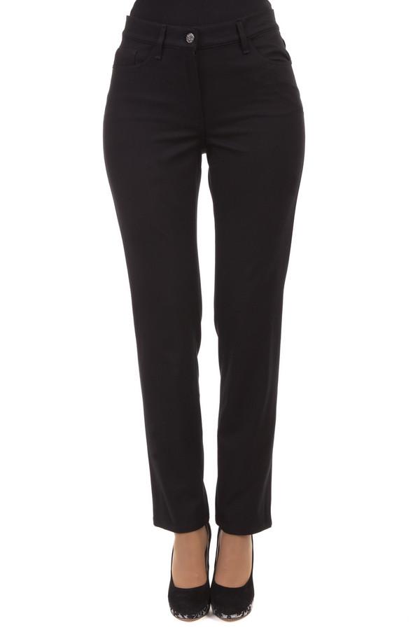 Классические джинсы GardeurКлассические джинсы<br>Черные джинсы от бренда Gardeur прямого кроя. Изделие дополнено: шлевками под ремень, пятью стандартными карманами и застежкой молния с пуговицей.<br><br>Размер RU: 42K<br>Пол: Женский<br>Возраст: Взрослый<br>Материал: эластан 7%, хлопок 50%, лиоцел 43%<br>Цвет: Чёрный