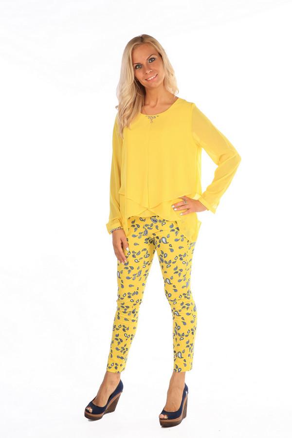 Блузa MiltonБлузы<br><br><br>Размер RU: 50<br>Пол: Женский<br>Возраст: Взрослый<br>Материал: полиэстер 100%<br>Цвет: Жёлтый