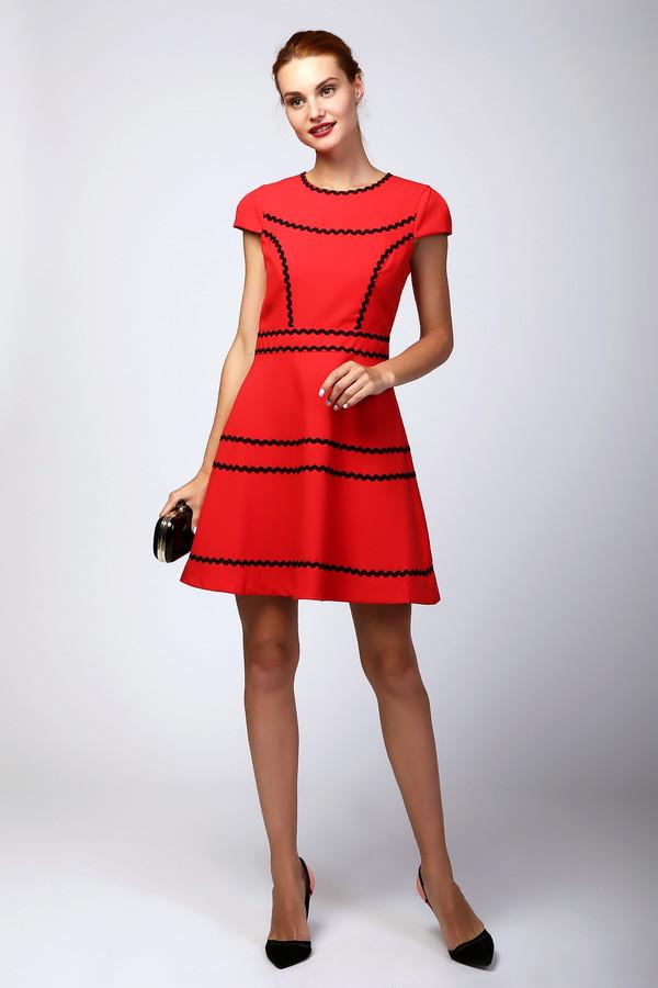 Платье MiltonПлатья<br><br><br>Размер RU: 46<br>Пол: Женский<br>Возраст: Взрослый<br>Материал: полиэстер 100%<br>Цвет: Красный