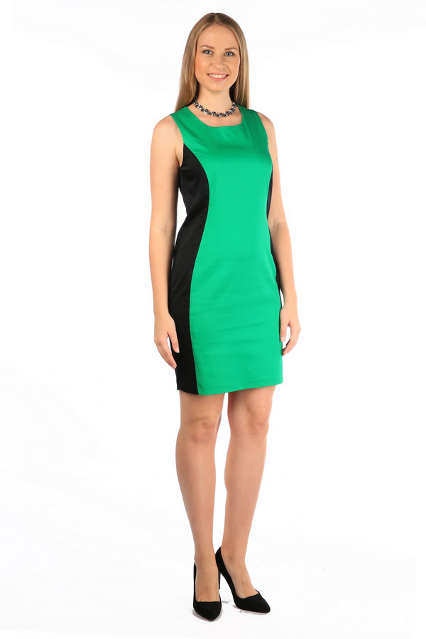Платье MiltonПлатья<br><br><br>Размер RU: 46<br>Пол: Женский<br>Возраст: Взрослый<br>Материал: None<br>Цвет: Зелёный