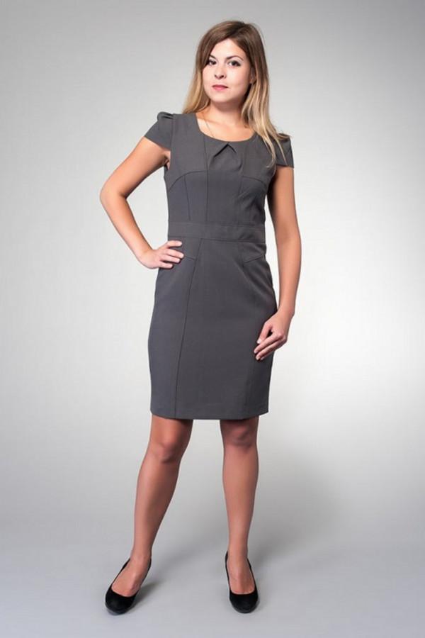 Платье MiltonПлатья<br><br><br>Размер RU: 44<br>Пол: Женский<br>Возраст: Взрослый<br>Материал: полиэстер 100%<br>Цвет: Серый