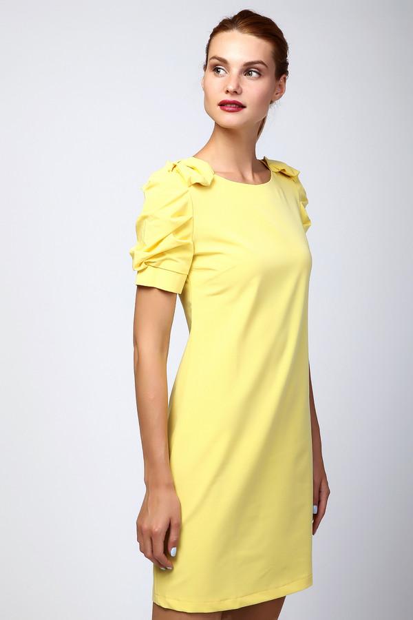 Платье MiltonПлатья<br><br><br>Размер RU: 46<br>Пол: Женский<br>Возраст: Взрослый<br>Материал: полиэстер 35%, хлопок 65%<br>Цвет: Жёлтый