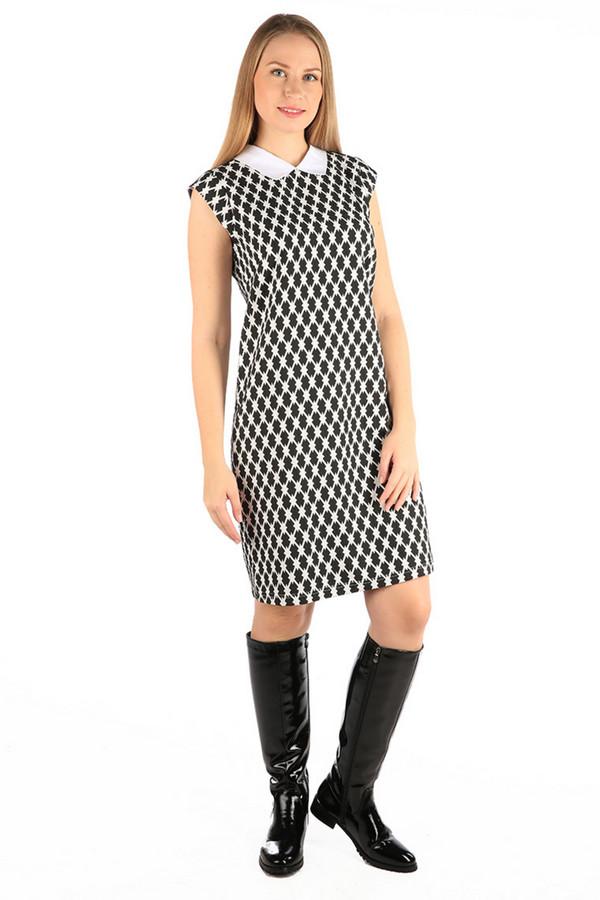 Платье MiltonПлатья<br><br><br>Размер RU: 48<br>Пол: Женский<br>Возраст: Взрослый<br>Материал: полиэстер 35%, хлопок 65%<br>Цвет: Разноцветный