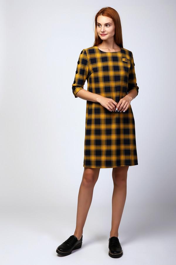 Платье MiltonПлатья<br><br><br>Размер RU: 46<br>Пол: Женский<br>Возраст: Взрослый<br>Материал: хлопок 35%, полиэстер 65%<br>Цвет: Разноцветный