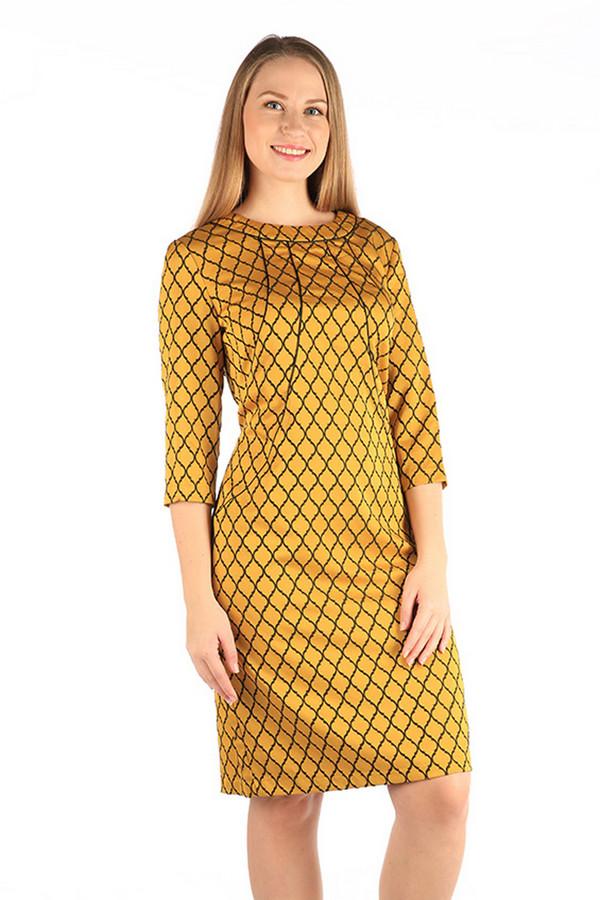 Платье MiltonПлатья<br><br><br>Размер RU: 50<br>Пол: Женский<br>Возраст: Взрослый<br>Материал: полиэстер 70%, вискоза 27%, спандекс 3%<br>Цвет: Разноцветный
