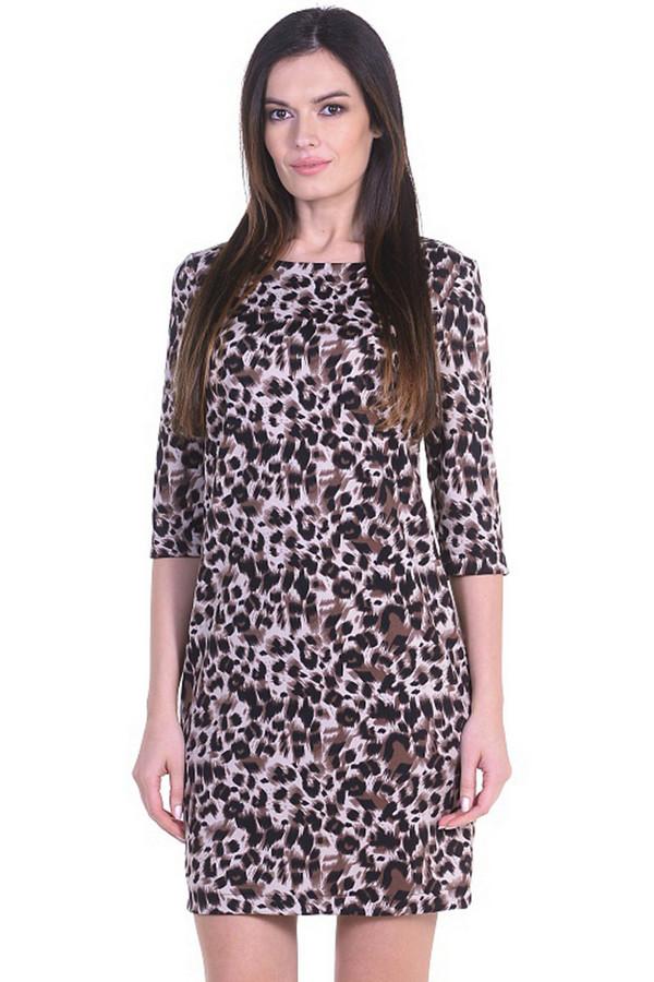 Платье MiltonПлатья<br><br><br>Размер RU: 44<br>Пол: Женский<br>Возраст: Взрослый<br>Материал: полиэстер 95%, спандекс 5%<br>Цвет: Разноцветный
