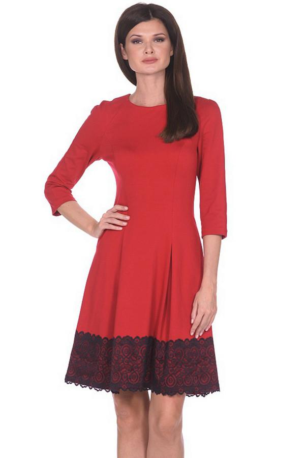 Платье MiltonПлатья<br><br><br>Размер RU: 46<br>Пол: Женский<br>Возраст: Взрослый<br>Материал: вискоза 65%, нейлон 30%, спандекс 5%<br>Цвет: Красный