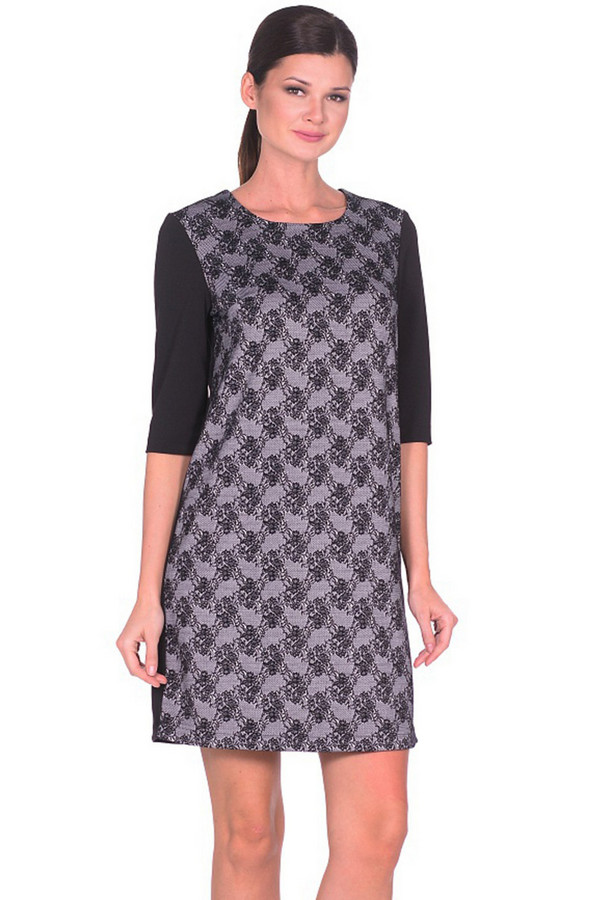 Платье MiltonПлатья<br><br><br>Размер RU: 48<br>Пол: Женский<br>Возраст: Взрослый<br>Материал: полиэстер 70%, вискоза 27%, спандекс 3%<br>Цвет: Разноцветный