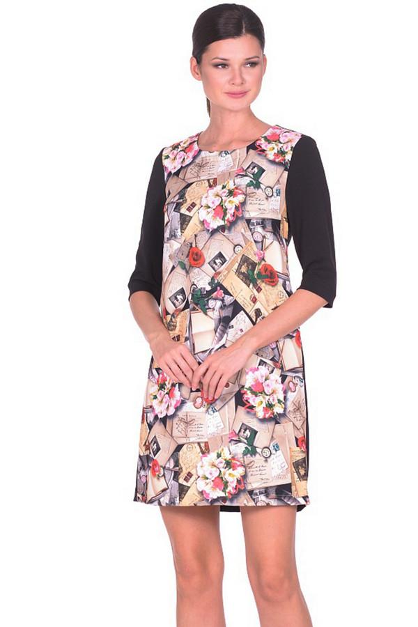 Платье MiltonПлатья<br><br><br>Размер RU: 48<br>Пол: Женский<br>Возраст: Взрослый<br>Материал: эластан 3%, полиэстер 97%, хлопок 97%, спандекс 3%<br>Цвет: Разноцветный