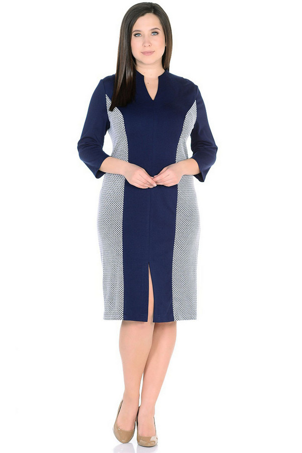 Платье MiltonПлатья<br><br><br>Размер RU: 46<br>Пол: Женский<br>Возраст: Взрослый<br>Материал: вискоза 65%, нейлон 30%, спандекс 5%<br>Цвет: Разноцветный