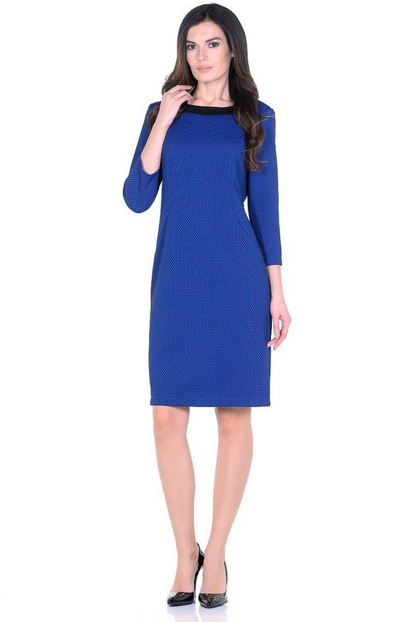 Платье MiltonПлатья<br><br><br>Размер RU: 50<br>Пол: Женский<br>Возраст: Взрослый<br>Материал: полиэстер 95%, спандекс 5%<br>Цвет: Синий