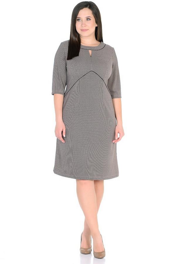 Платье MiltonПлатья<br><br><br>Размер RU: 48<br>Пол: Женский<br>Возраст: Взрослый<br>Материал: полиэстер 65%, вискоза 30%, спандекс 5%<br>Цвет: Разноцветный