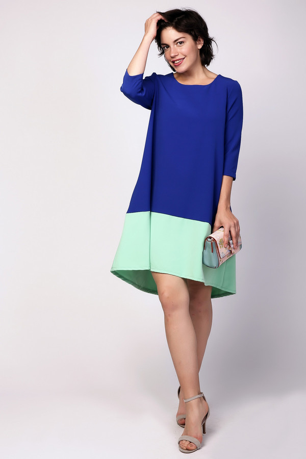 Платье MiltonПлатья<br><br><br>Размер RU: 48<br>Пол: Женский<br>Возраст: Взрослый<br>Материал: полиэстер 95%, спандекс 5%<br>Цвет: Разноцветный