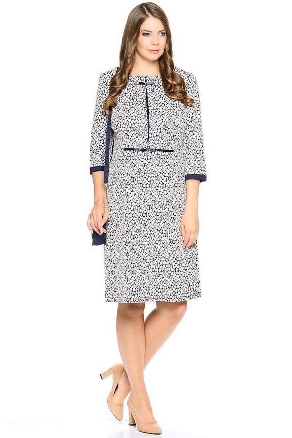 Платье MiltonПлатья<br><br><br>Размер RU: 54<br>Пол: Женский<br>Возраст: Взрослый<br>Материал: полиэстер 35%, хлопок 60%, лайкра 5%<br>Цвет: Разноцветный
