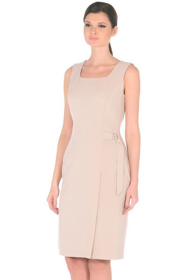 Платье MiltonПлатья<br><br><br>Размер RU: 52<br>Пол: Женский<br>Возраст: Взрослый<br>Материал: эластан 3%, полиэстер 63%, вискоза 34%<br>Цвет: Бежевый