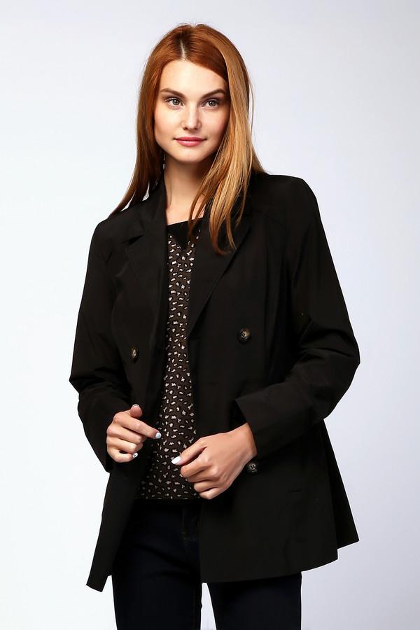 Куртка MiltonКуртки<br><br><br>Размер RU: 50<br>Пол: Женский<br>Возраст: Взрослый<br>Материал: полиэстер 37%, хлопок 63%<br>Цвет: Чёрный