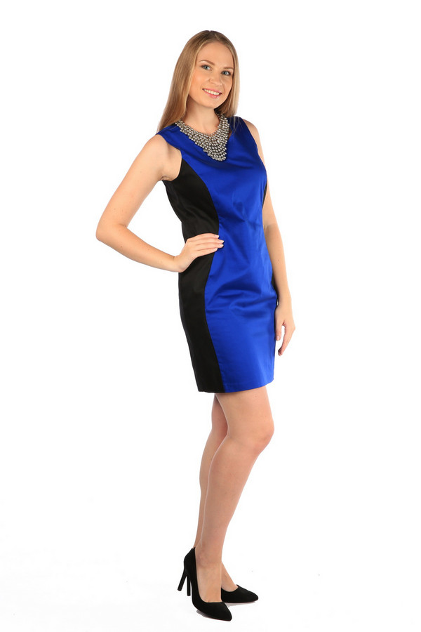 Платье MiltonПлатья<br><br><br>Размер RU: 44<br>Пол: Женский<br>Возраст: Взрослый<br>Материал: None<br>Цвет: Синий