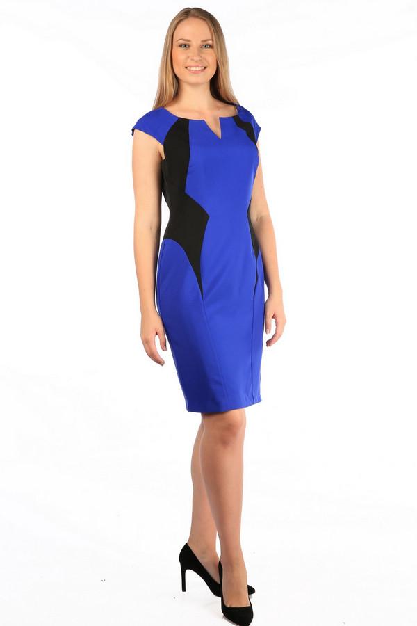 Платье MiltonПлатья<br><br><br>Размер RU: 48<br>Пол: Женский<br>Возраст: Взрослый<br>Материал: полиэстер 100%<br>Цвет: Синий