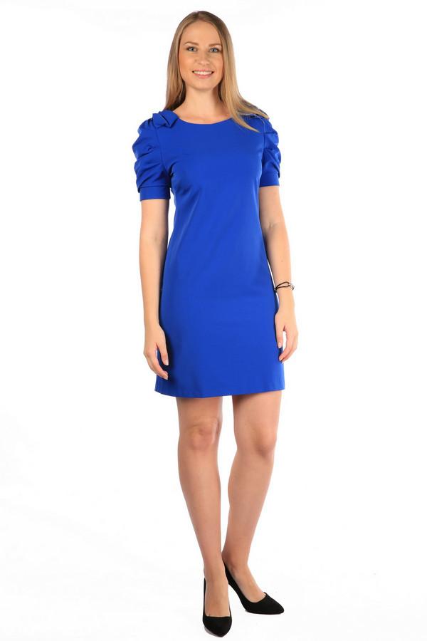 Платье MiltonПлатья<br><br><br>Размер RU: 48<br>Пол: Женский<br>Возраст: Взрослый<br>Материал: полиэстер 35%, хлопок 65%<br>Цвет: Синий