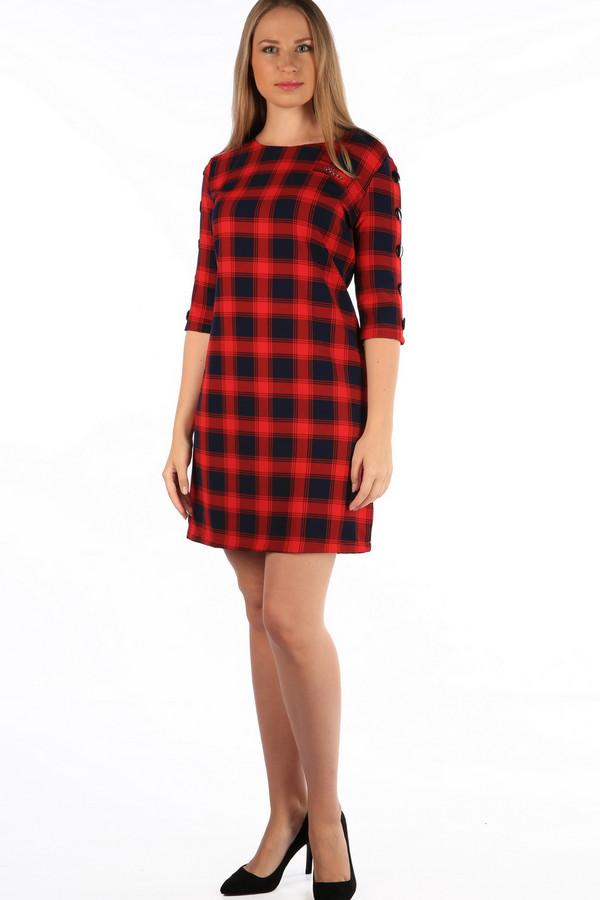 Платье MiltonПлатья<br><br><br>Размер RU: 50<br>Пол: Женский<br>Возраст: Взрослый<br>Материал: хлопок 35%, полиэстер 65%<br>Цвет: Разноцветный