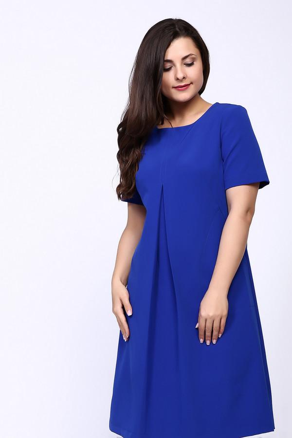 Платье MiltonПлатья<br><br><br>Размер RU: 54<br>Пол: Женский<br>Возраст: Взрослый<br>Материал: полиэстер 95%, спандекс 5%<br>Цвет: Синий