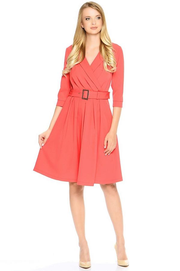 Платье MiltonПлатья<br><br><br>Размер RU: 48<br>Пол: Женский<br>Возраст: Взрослый<br>Материал: полиэстер 95%, спандекс 5%<br>Цвет: Красный