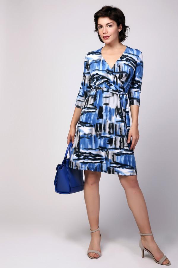 Платье MiltonПлатья<br><br><br>Размер RU: 44<br>Пол: Женский<br>Возраст: Взрослый<br>Материал: вискоза 95%, лайкра 5%<br>Цвет: Разноцветный