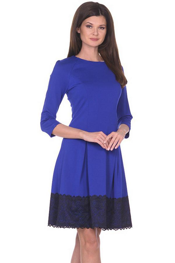 Платье MiltonПлатья<br><br><br>Размер RU: 46<br>Пол: Женский<br>Возраст: Взрослый<br>Материал: вискоза 65%, нейлон 30%, спандекс 5%<br>Цвет: Синий