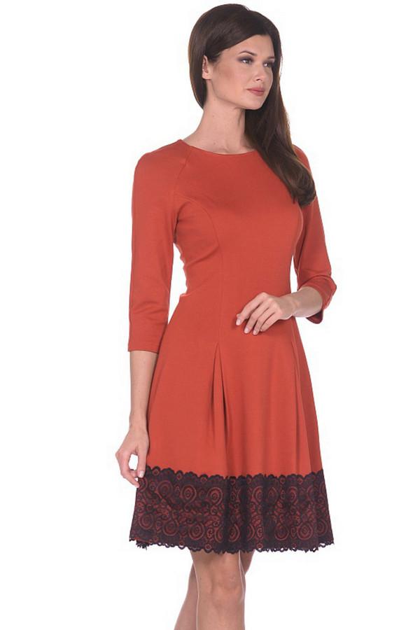 Платье MiltonПлатья<br><br><br>Размер RU: 46<br>Пол: Женский<br>Возраст: Взрослый<br>Материал: вискоза 65%, нейлон 30%, спандекс 5%<br>Цвет: Оранжевый