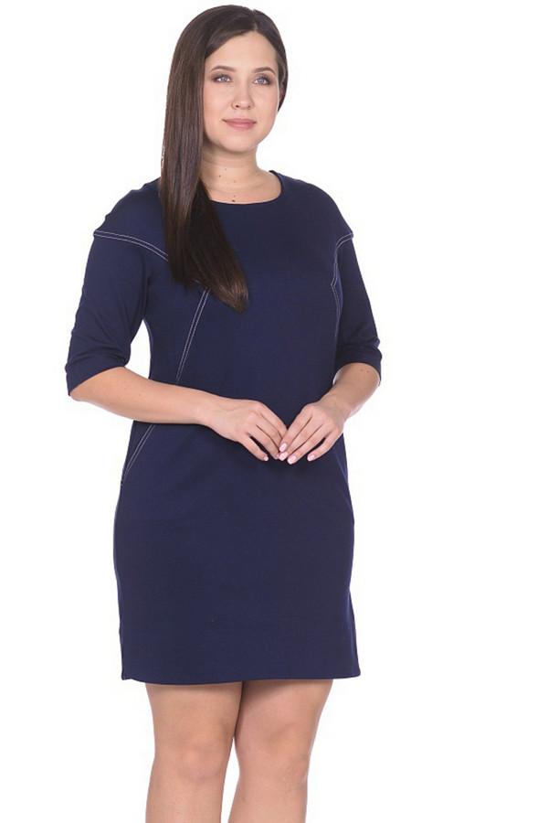 Платье MiltonПлатья<br><br><br>Размер RU: 52<br>Пол: Женский<br>Возраст: Взрослый<br>Материал: вискоза 65%, нейлон 30%, спандекс 5%<br>Цвет: Синий