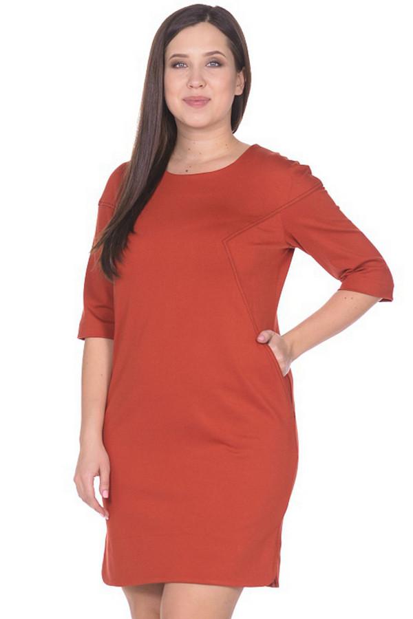 Платье MiltonПлатья<br><br><br>Размер RU: 48<br>Пол: Женский<br>Возраст: Взрослый<br>Материал: вискоза 65%, нейлон 30%, спандекс 5%<br>Цвет: Оранжевый