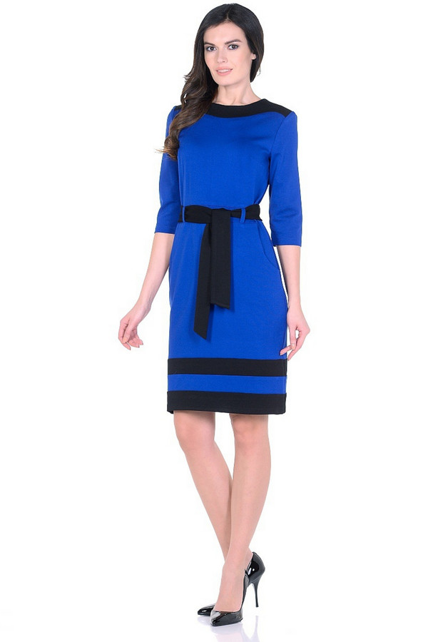 Платье MiltonПлатья<br><br><br>Размер RU: 50<br>Пол: Женский<br>Возраст: Взрослый<br>Материал: вискоза 65%, нейлон 30%, спандекс 5%<br>Цвет: Разноцветный
