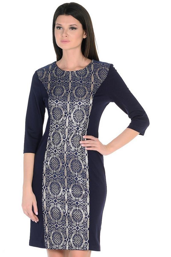 Платье MiltonПлатья<br><br><br>Размер RU: 48<br>Пол: Женский<br>Возраст: Взрослый<br>Материал: вискоза 65%, нейлон 30%, спандекс 5%<br>Цвет: Синий