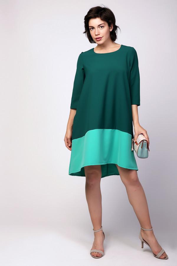 Платье MiltonПлатья<br><br><br>Размер RU: 44<br>Пол: Женский<br>Возраст: Взрослый<br>Материал: полиэстер 95%, спандекс 5%<br>Цвет: Зелёный
