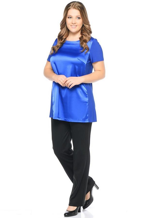 Блузa MiltonБлузы<br><br><br>Размер RU: 46<br>Пол: Женский<br>Возраст: Взрослый<br>Материал: полиэстер 95%, лайкра 5%<br>Цвет: Синий