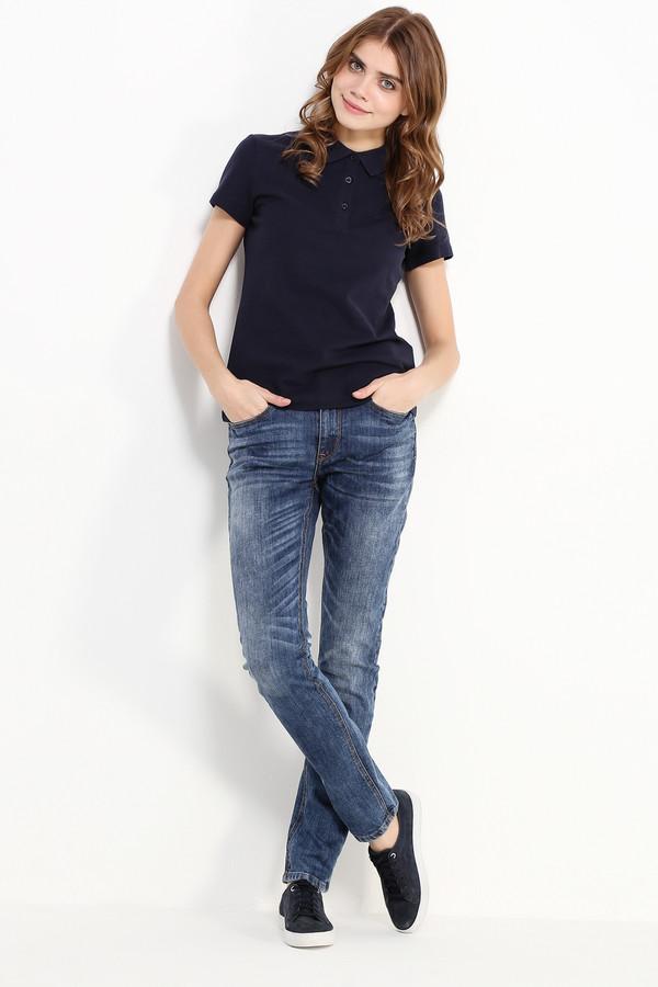 Джинсы FINN FLAREДжинсы<br>Прямые классические джинсы – основа любого гардероба в стиле casual. Такую модель можно сочетать абсолютно со всеми видами топов и обуви. Спереди и сзади джинсы выполнены с потертостями. Модель выполнена из высококачественного хлопка с небольшим содержанием эластана.<br><br>Размер RU: 42<br>Пол: Женский<br>Возраст: Взрослый<br>Материал: эластан 2%, хлопок 98%<br>Цвет: Синий