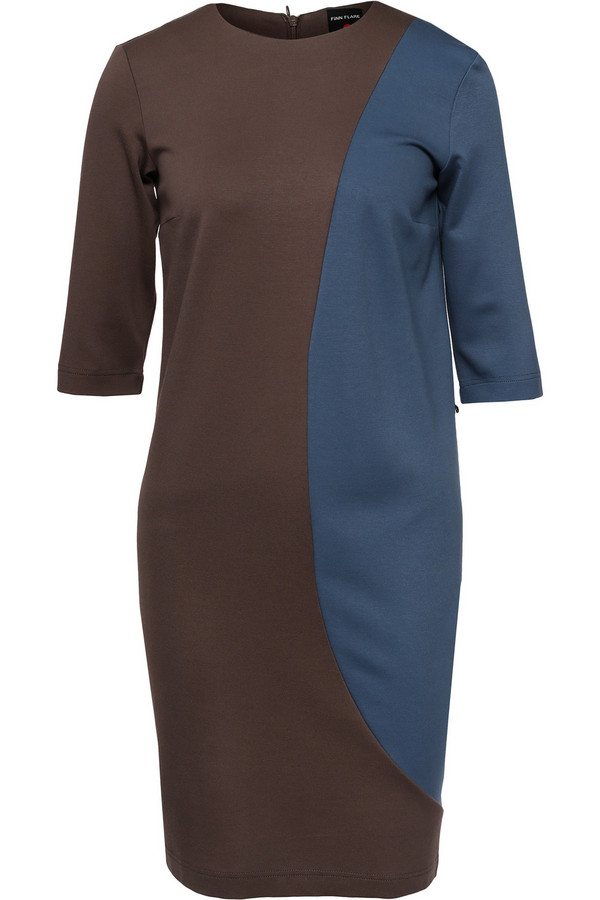 Платье FINN FLAREПлатья<br><br><br>Размер RU: 44<br>Пол: Женский<br>Возраст: Взрослый<br>Материал: эластан 5%, вискоза 70%, нейлон 25%<br>Цвет: Разноцветный